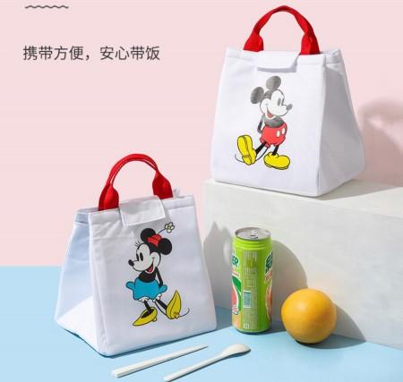 每周五收單►正版授權 迪士尼米奇米妮保溫餐袋