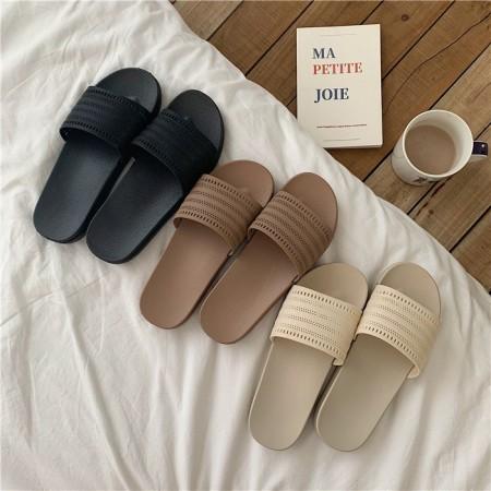 【7/15收單】日式優雅鏤空居家室內拖鞋
