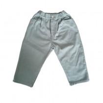藍綠色  90碼 現貨供應  售完不補►復古水洗蘿蔔褲