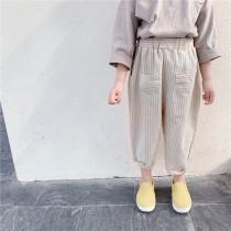 3/2收單►雙口袋休閒線條褲