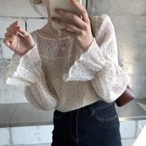 3/3收單►甜姐兒兩件式壓褶襯衫