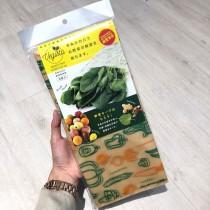 熱門商品現貨售完為止►日本製 蔬菜水果夾鏈保鮮袋8入