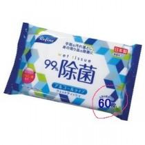 4/5收單►日本製日本Refineリファイン除菌舒柔濕巾60枚